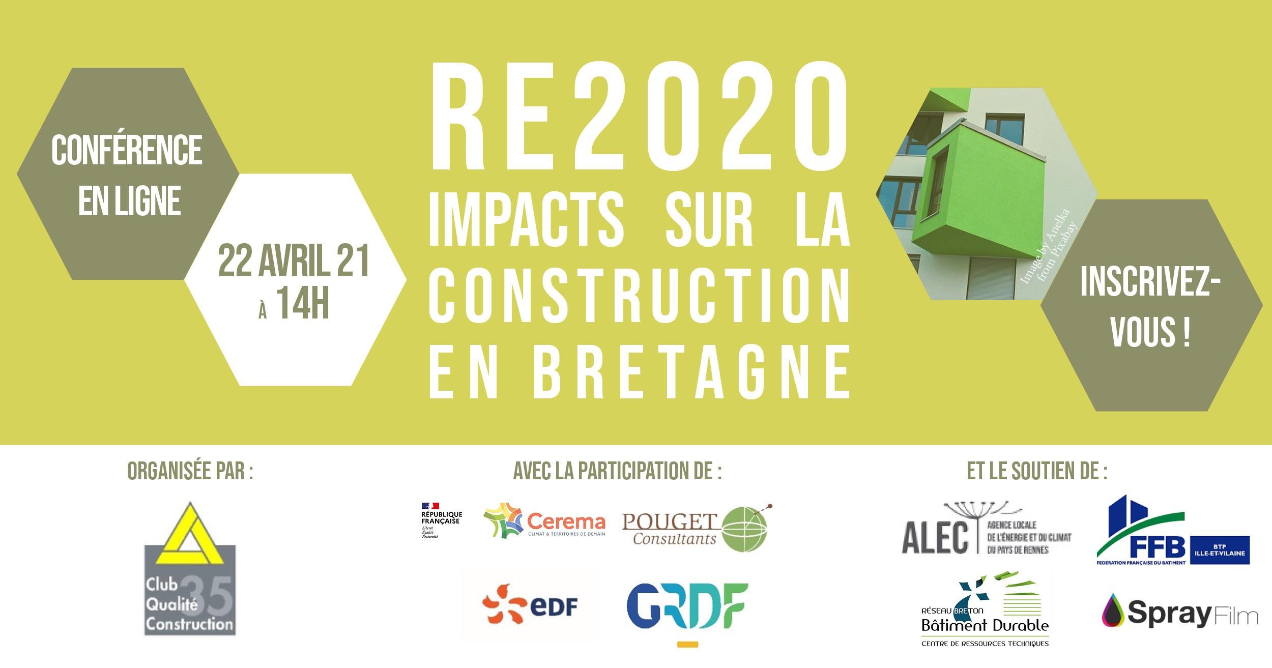 Webinaire sur la RE2020 : quels impacts sur la construction en Bretagne ?